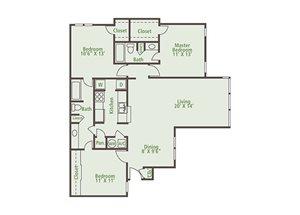 Floor Plan at Nesbit Palisades, Alpharetta, GA