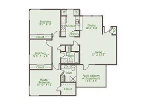 Floor Plan at Nesbit Palisades, Alpharetta, GA 30022