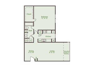 Floor Plan at Nesbit Palisades, Alpharetta, 30022