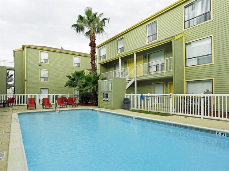 Swimming Pool at Carelton Courtyard, Galveston, 77550