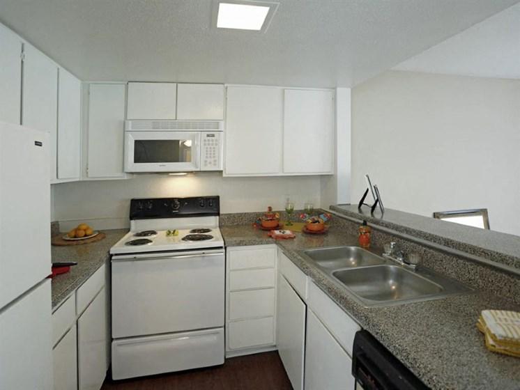 Kitchen Unit at Carelton Courtyard, Galveston