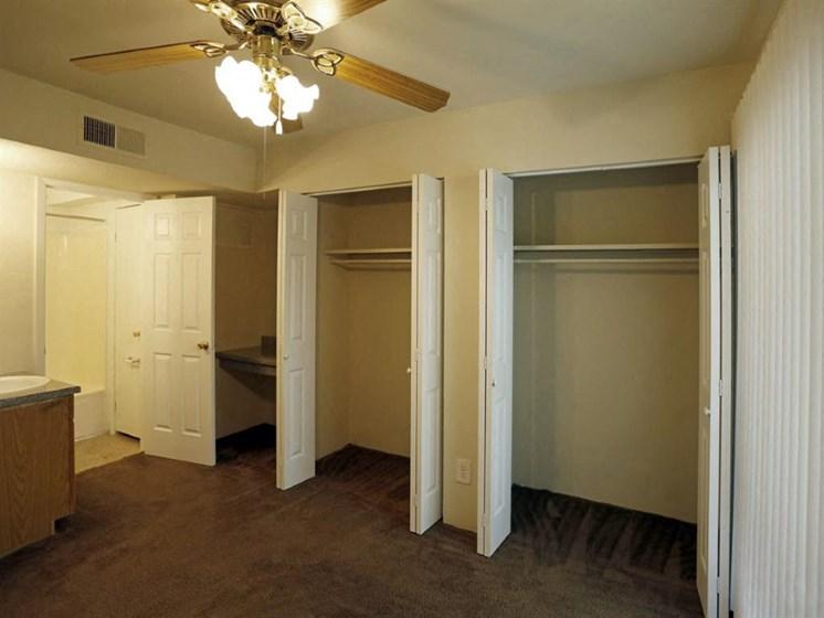 Walk-In Closet at Carelton Courtyard, Galveston, 77550