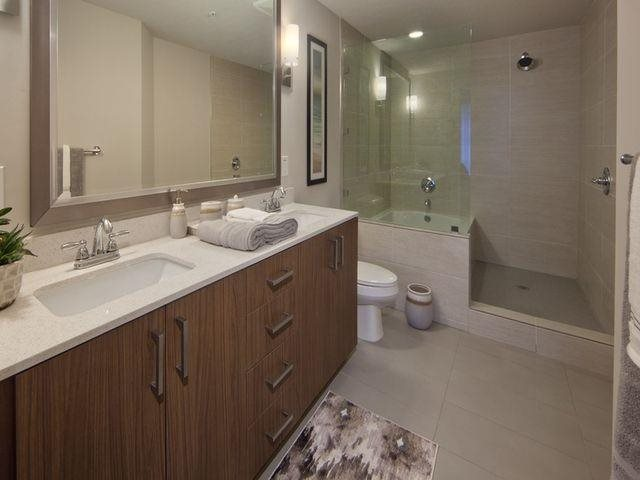 Our spa inspired bathrooms are spacious and elegant at Windsor at Doral, Miami