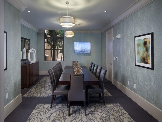 Executive board room at Windsor at Doral,4401 NW 87th Avenue, FL