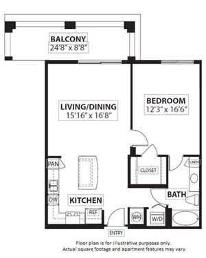 Floorplan at Windsor at Doral,4401 NW 87th Avenue, 33178