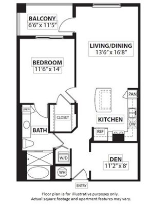 Floorplan at Windsor at Doral,4401 NW 87th Avenue, Miami, 33178
