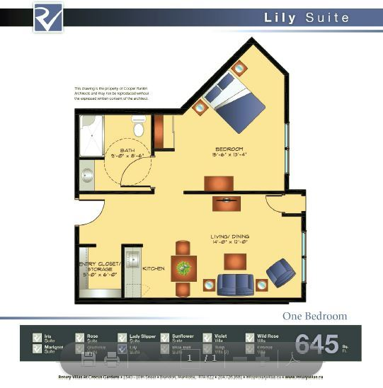 Lily Suite Floorplan