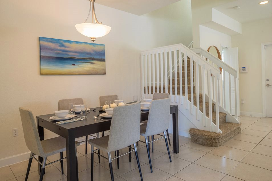 Luxury Dining Room, Palm Breeze at Keys Gate Homestead, FL 33035 near The Hammocks