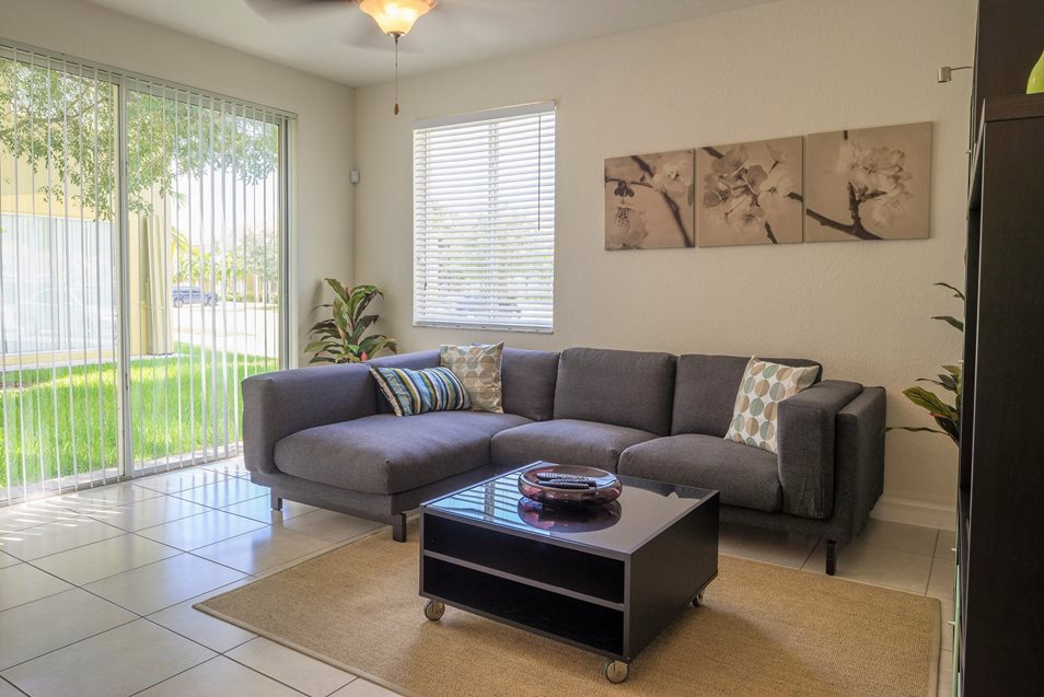 Luxury Family Room w/Window, Palm Breeze at Keys Gate Homestead, FL 33035 near The Hammocks