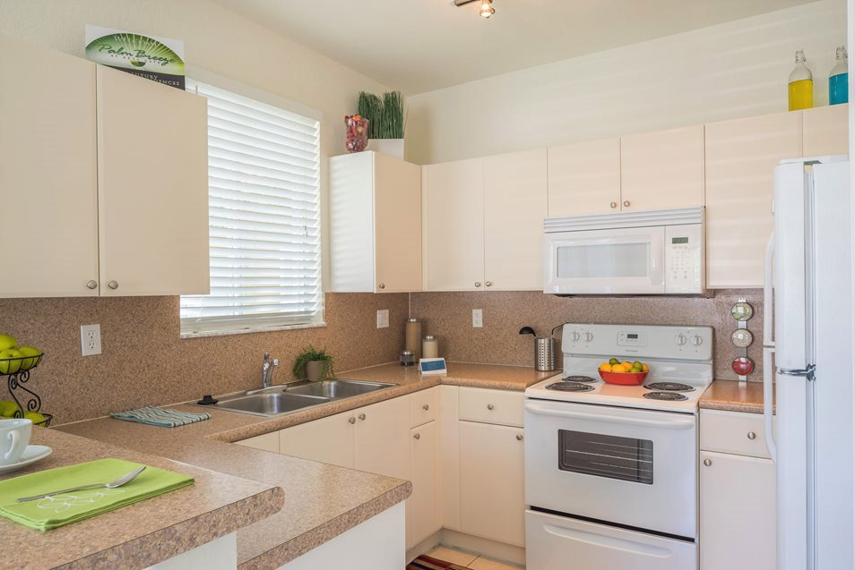 Luxury Kitchen Detail, Palm Breeze at Keys Gate Homestead, FL 33035
