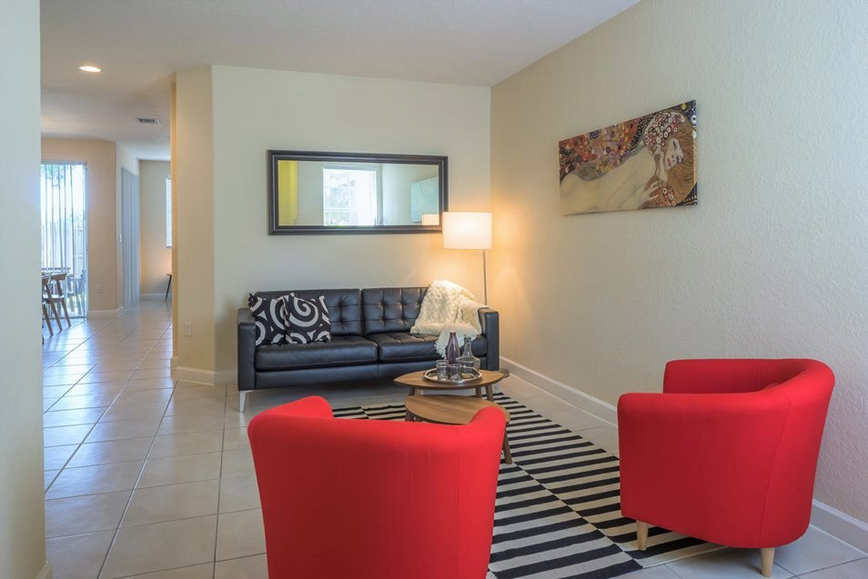 Executive Living Room, Palm Breeze at Keys Gate Homestead, FL 33035