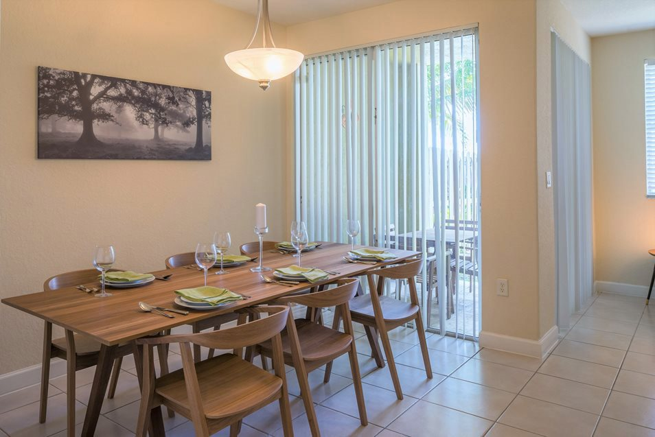 Executive Dining Room, Palm Breeze at Keys Gate Homestead, FL 33035