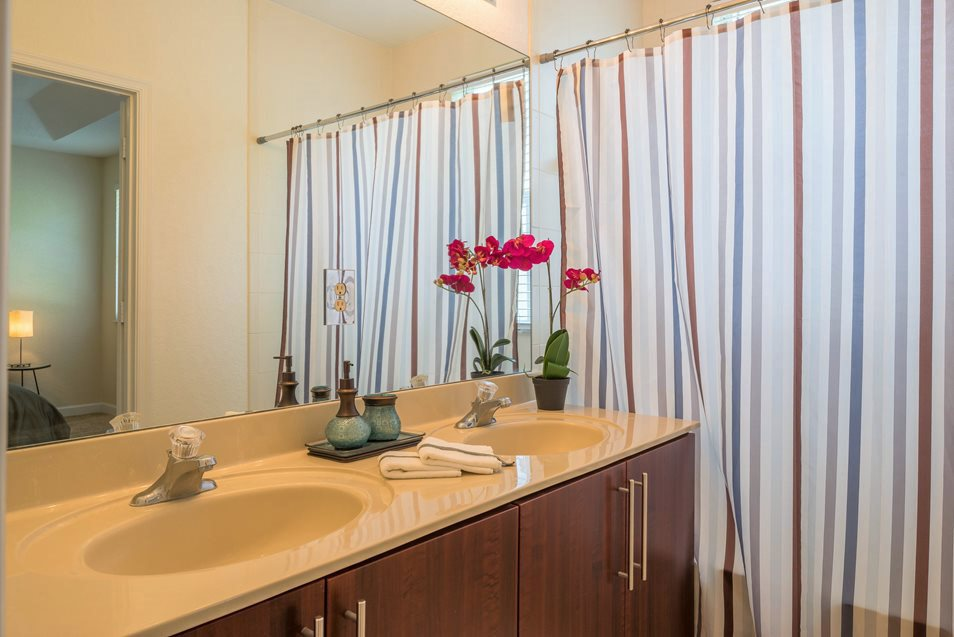 Executive Master Bathroom, Palm Breeze at Keys Gate Homestead, FL 33035
