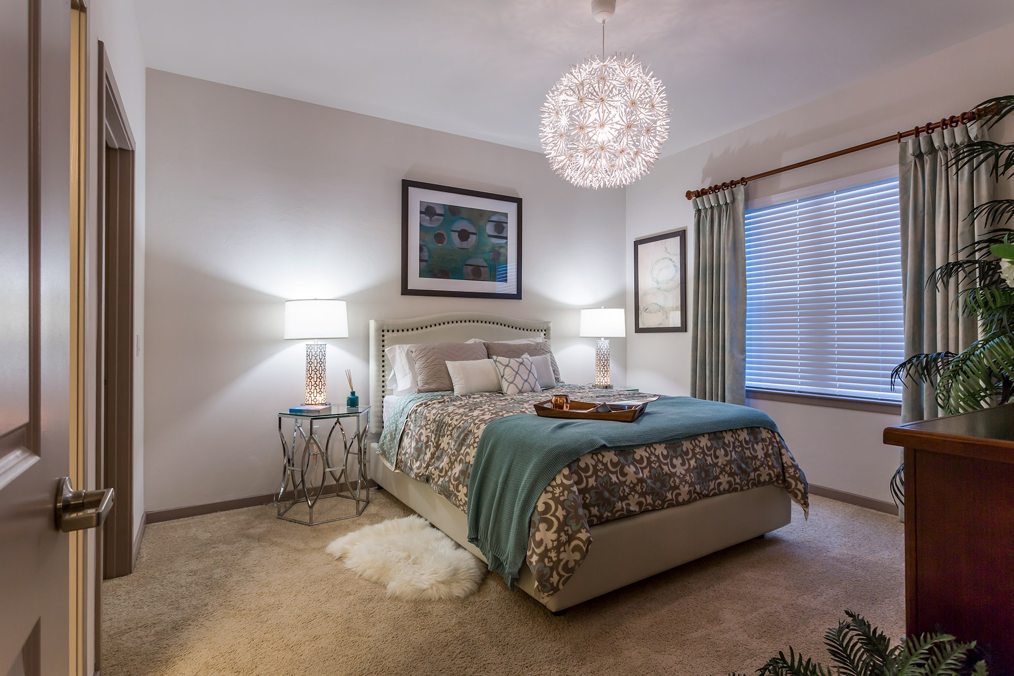 Large Bedroom at Orchid Run Apartments in Naples, FL