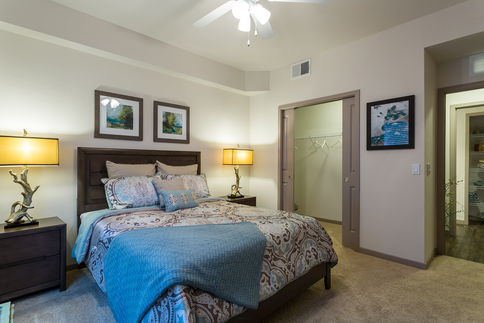 Bedroom at Orchid Run Apartments in Naples, FL