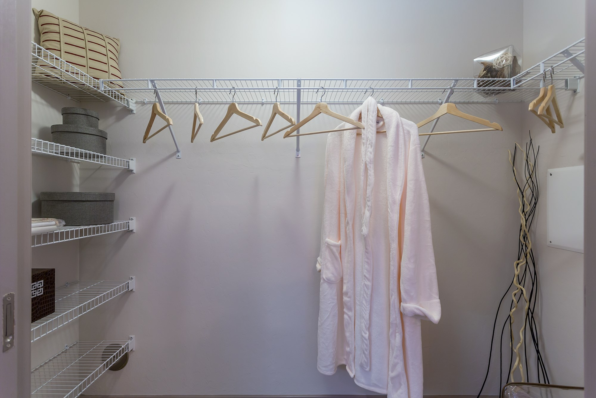 Walk-In Closet at Orchid Run Apartments in Naples, FL