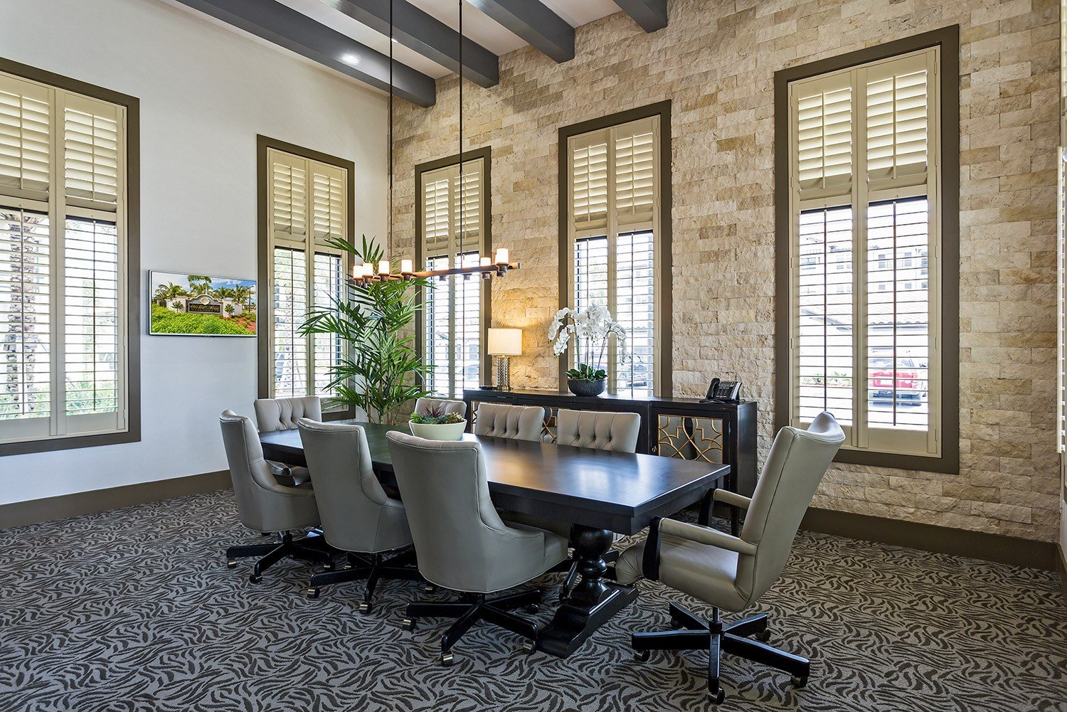 Conference Room at Orchid Run Apartments in Naples, FL