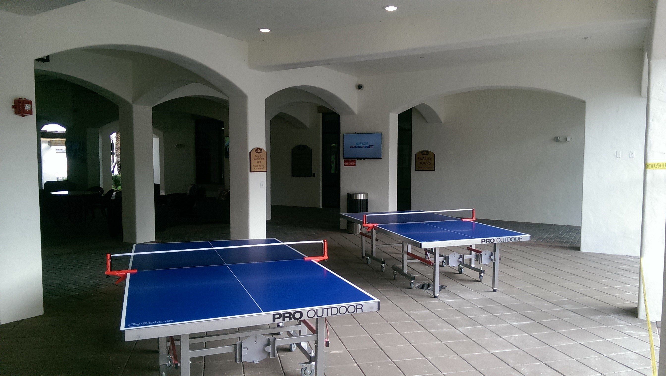 Ping Pong Tables at Orchid Run Apartments in Naples, FL