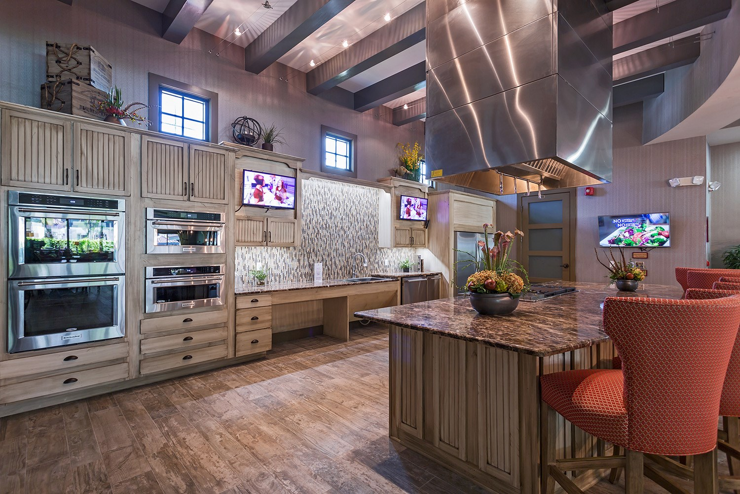 Clubhouse Kitchen at Orchid Run Apartments in Naples, FL