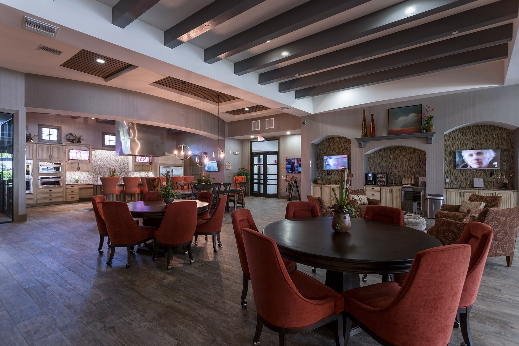 Clubhouse at Orchid Run Apartments in Naples, FL