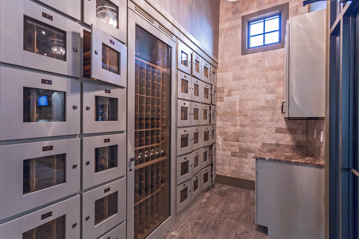 Resident Wine Coolers at Orchid Run Apartments in Naples, FL