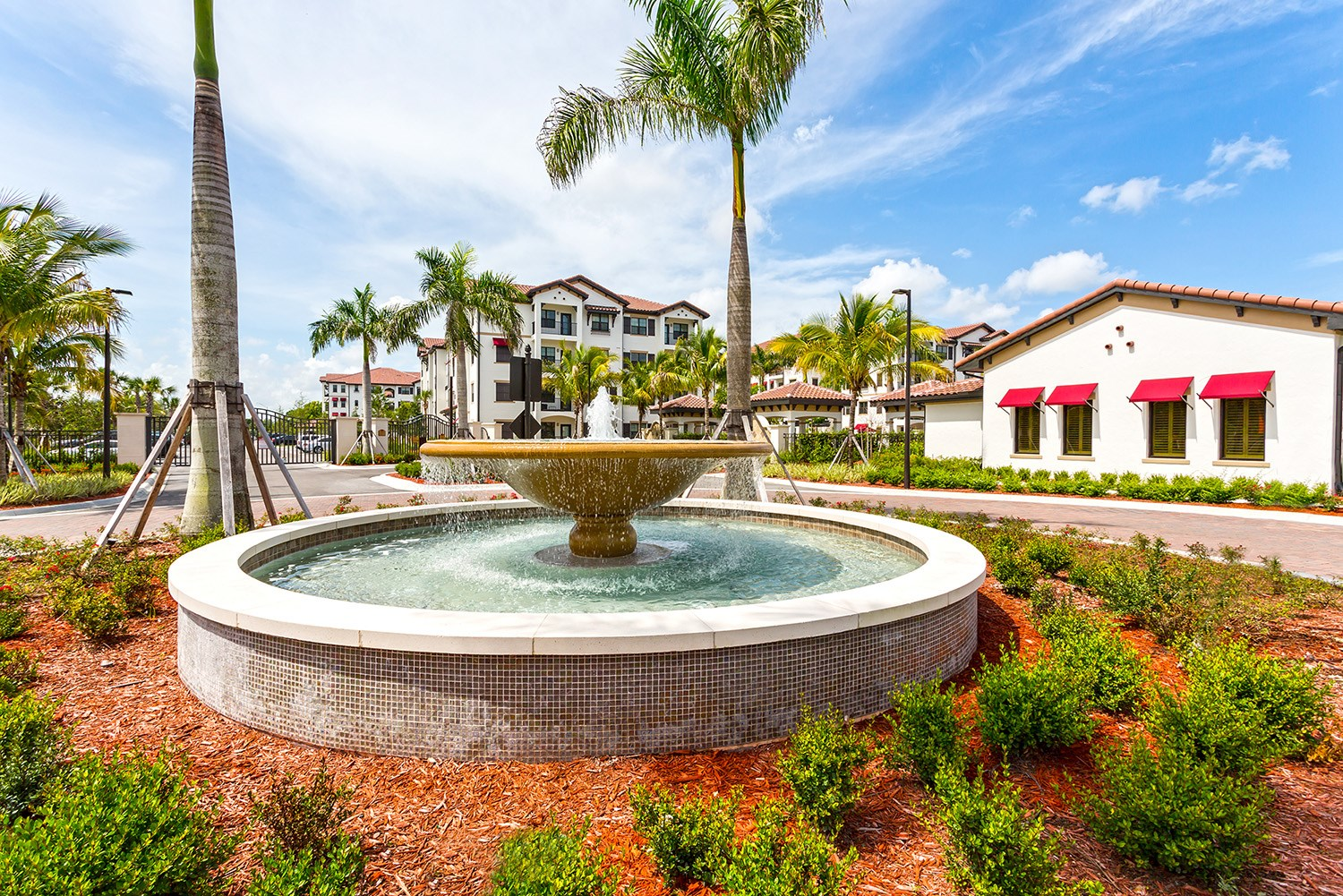 Fountain at Orchid Run Apartments in Naples, FL