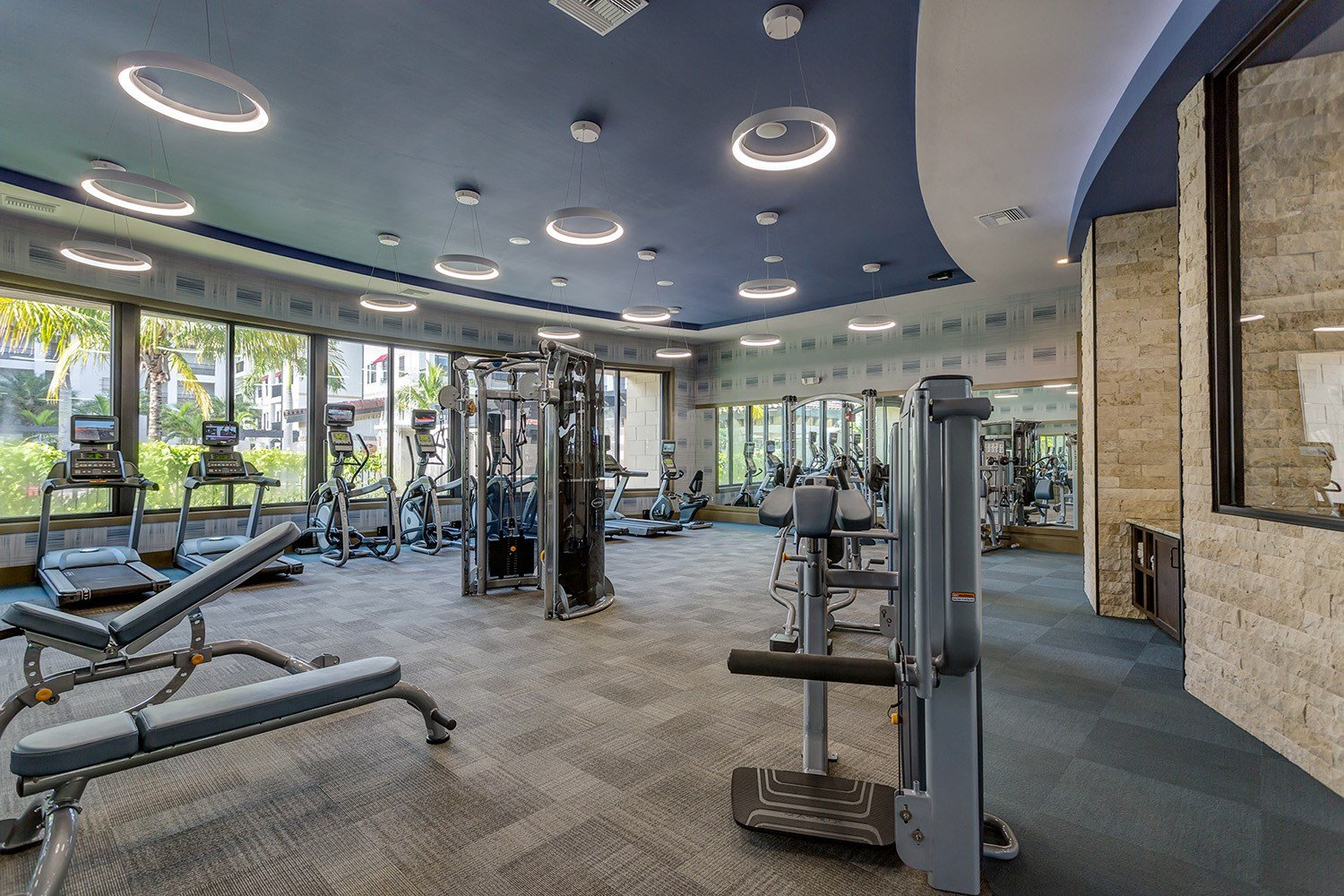 Fitness Center at Orchid Run Apartments in Naples, FL