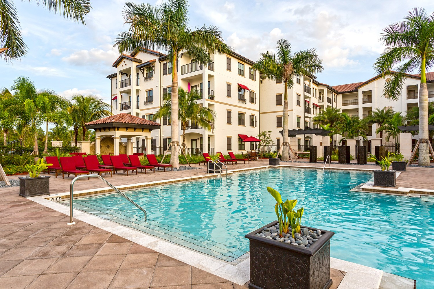 Swimming Pool at Orchid Run Apartments in Naples, FL
