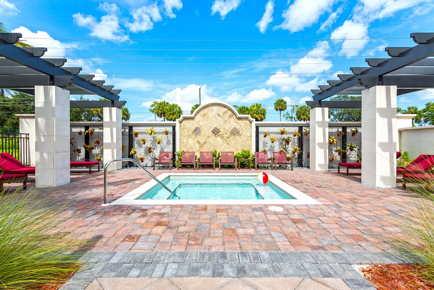 Hot Tub at Orchid Run Apartments in Naples, FL