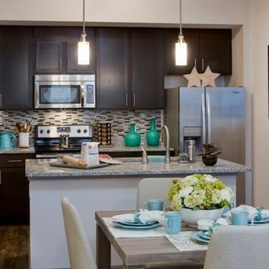 Deluxe Kitchen at Orchid Run Apartments in Naples, FL