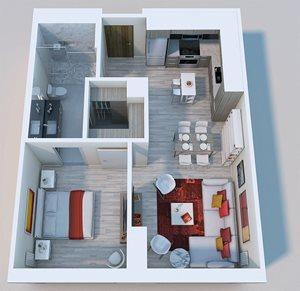 1x1 Penthouse