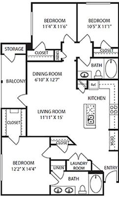 Willowbend Floor Plan 9