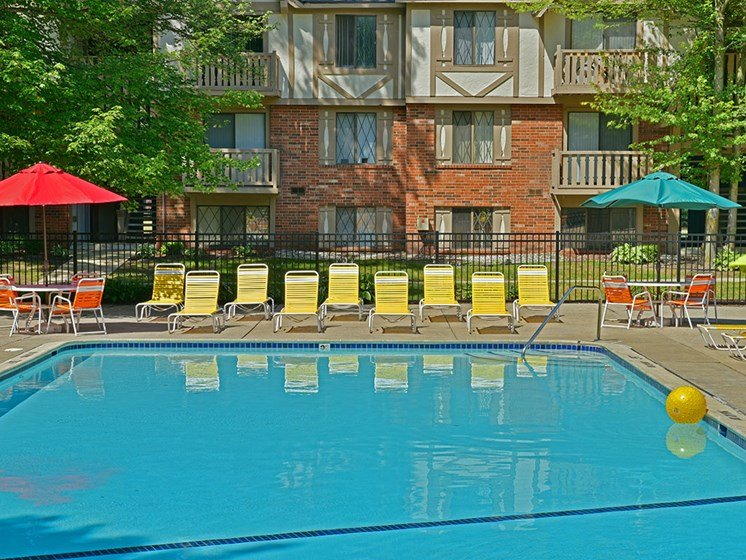 Pool at Woodland Place, Midland, 48640