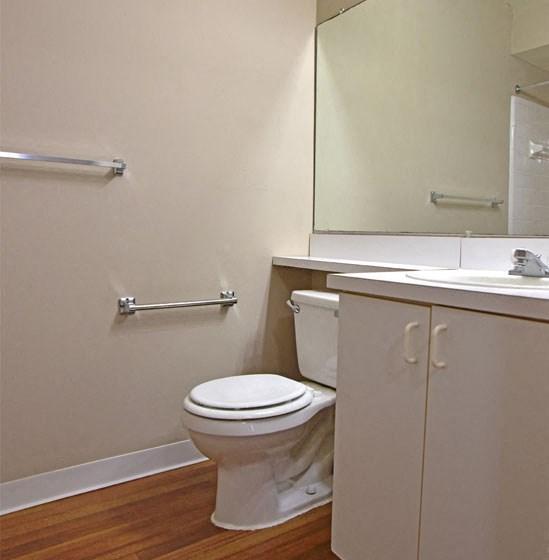 Bathroom Accessories at Windsor Place, Davison, Michigan