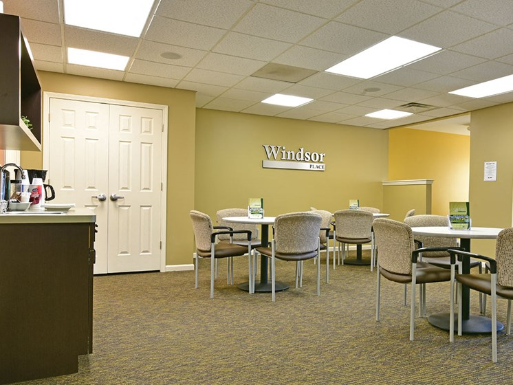 Leasing Office at Windsor Place, Michigan