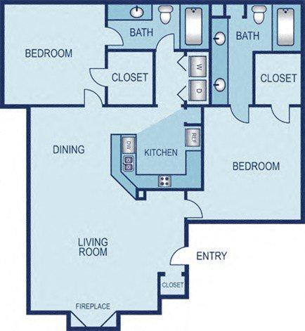 Bridgeport Floor Plan 6