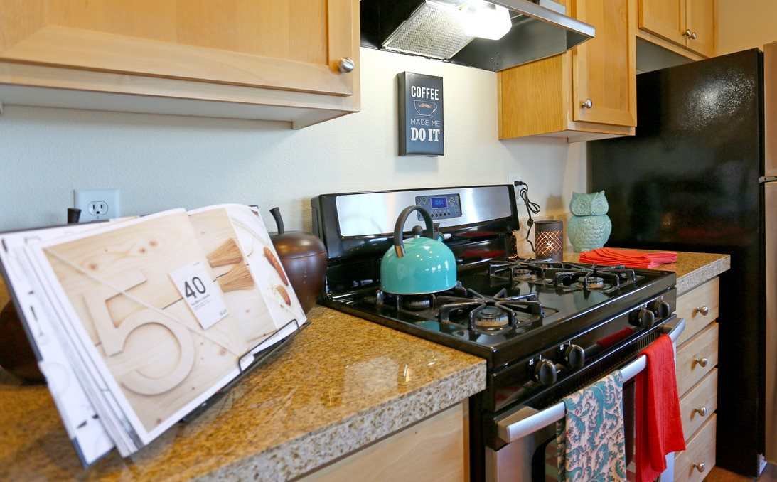 Springwater Crossing Apartments Kitchen and Cookbook