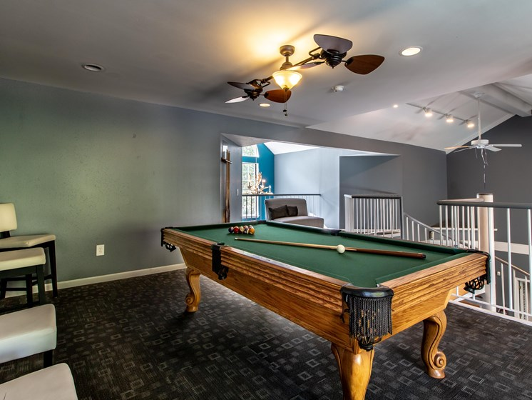 Billiards and Poker Lounge, The Heights in Madison Heights, MI