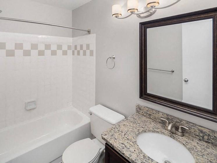 Apartments in Madison Heights, MI bathroom