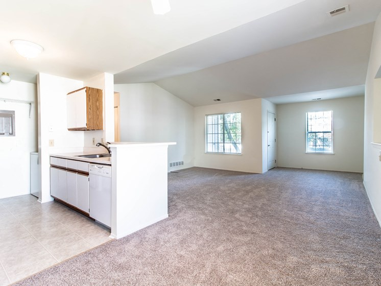 Spacious and Open Layouts at The Heights Apartments in Madison Heights, MI