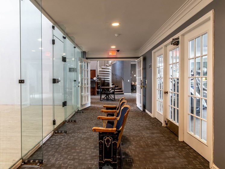 Racquetball Court and Fitness Center at The Heights Apartments in Madison Heights, MI