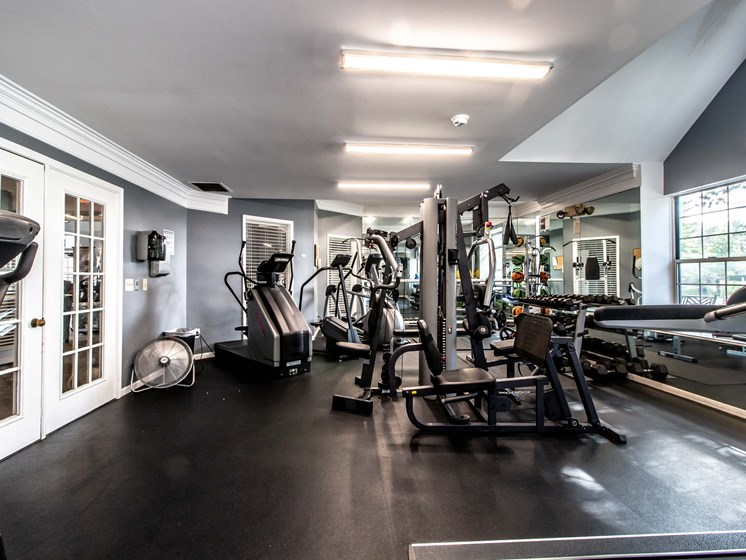 Fitness Center at The Heights Apartments in Madison Heights, MI