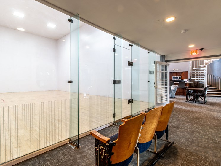 Racquetball Court at The Heights Apartments in Madison Heights, MI