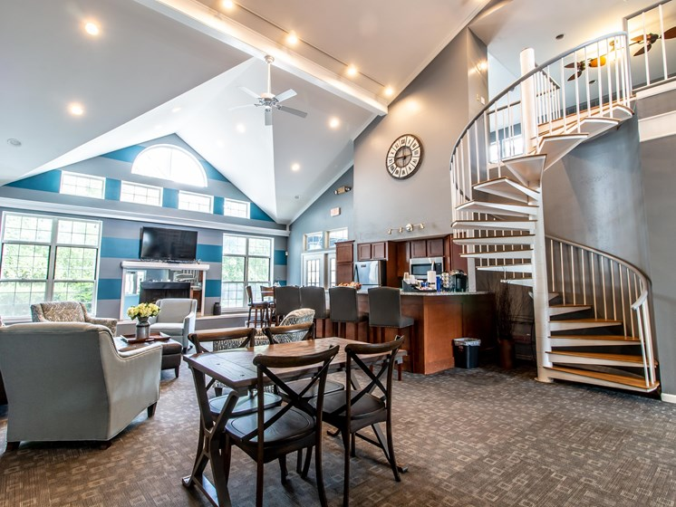 Clubhouse Rental Available for Events at The Heights Apartments in Madison Heights, MI