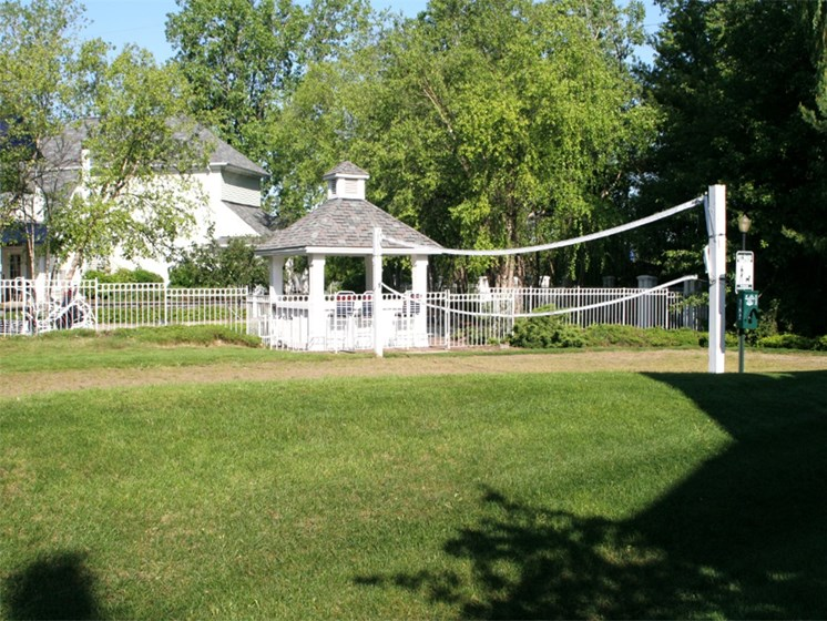Sand Volleyball Court at The Heights Apartments in Madison Heights, MI