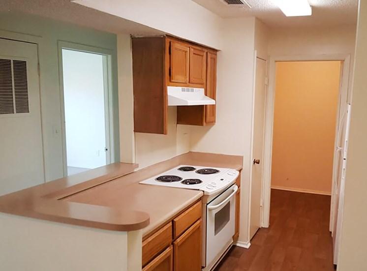 apartment kitchen in Jackson, MS