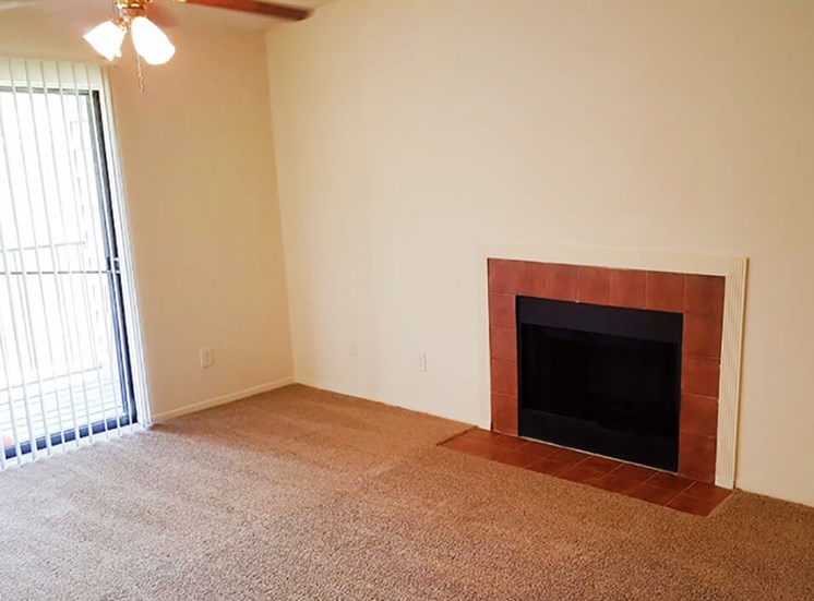 apartment fireplace in Jackson, MS