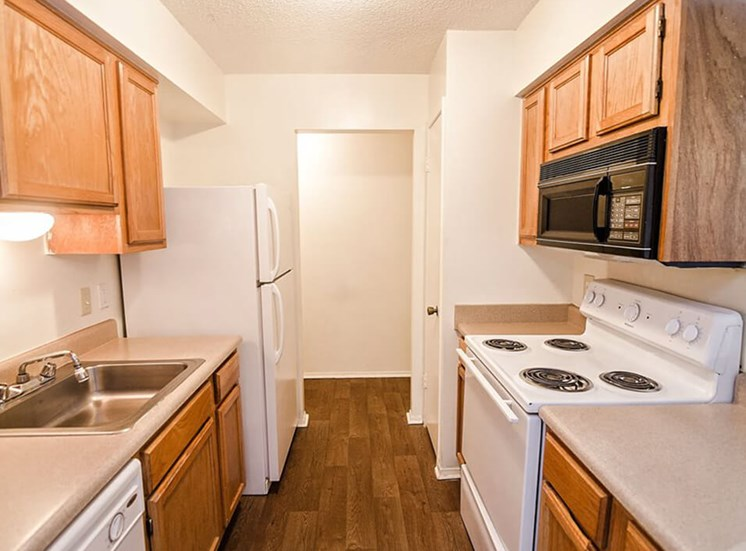 apartment with fully equipped kitchen in Jackson
