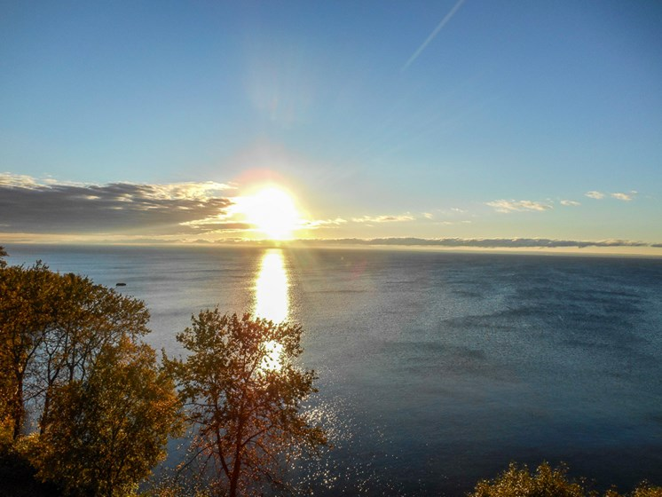 View at Les Chateaux Apartments in Duluth Minnesota