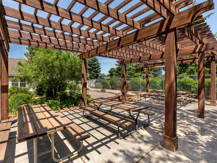 Apartments in Coon Rapids Pergola